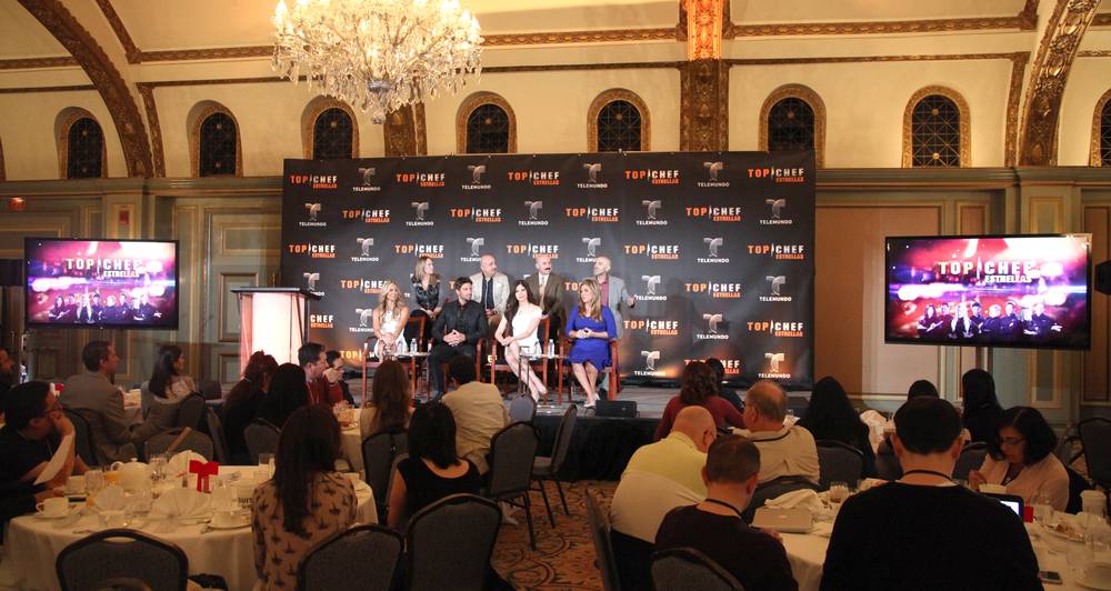 Los Angeles, CA. - Jan. 18, 2014: Top Chef Estrellas Breakfast / The Langham Hotel - Telemundo (Photo:DDPixels).