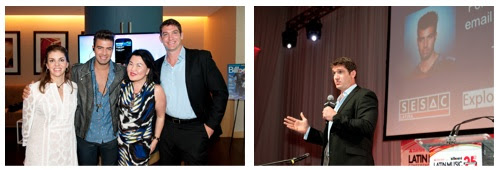 "Leila Cobo, Jencarlos Canela, J. J. Cheng, Aaron Davis / Speaker Aaron Davis: SESAC Latina presentation ""How to Maximize Your YouTube Presence and Revenue"""