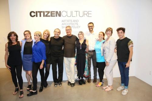 """Santa Monica Museum of Art \""Citizen Culture, Artists and Archi"