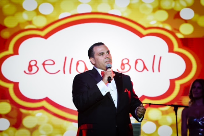 Raymond Rodriguez-Torres Bella's father at the Bellas Ball September 13th making the announcement.