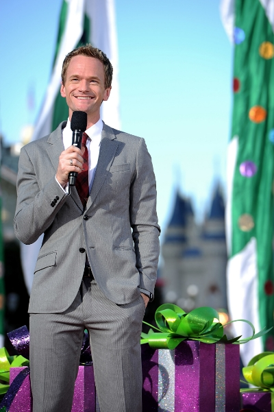'WORLD OF COLOR � CELEBRATE!' TO FEATURE NEIL PATRICK HARRIS (ANAHEIM, Calif.)� Neil Patrick Harris (pictured here in 2013 at the Walt Disney World Resort) will join Mickey Mouse to host an all-new presentation of the popular nighttime spectacular, 'World of Color' at Disney California Adventure park. 'World of Color-Celebrate!' will take guests on a journey to celebrate Walt Disney and his dream of Disneyland. This story will be brought to life by 1,200 fountains, animation and live-action film, lasers, special effects, and a stirring musical score. Celebrating 60 years of magic, 'World of Color � Celebrate!' is one of three new nighttime spectaculars which will immerse guests in the worlds of Disney stories like never before. The Diamond Celebration at the Disneyland Resort begins Friday, May 22, 2015. (Mark Ashman/Disneyland Resort)