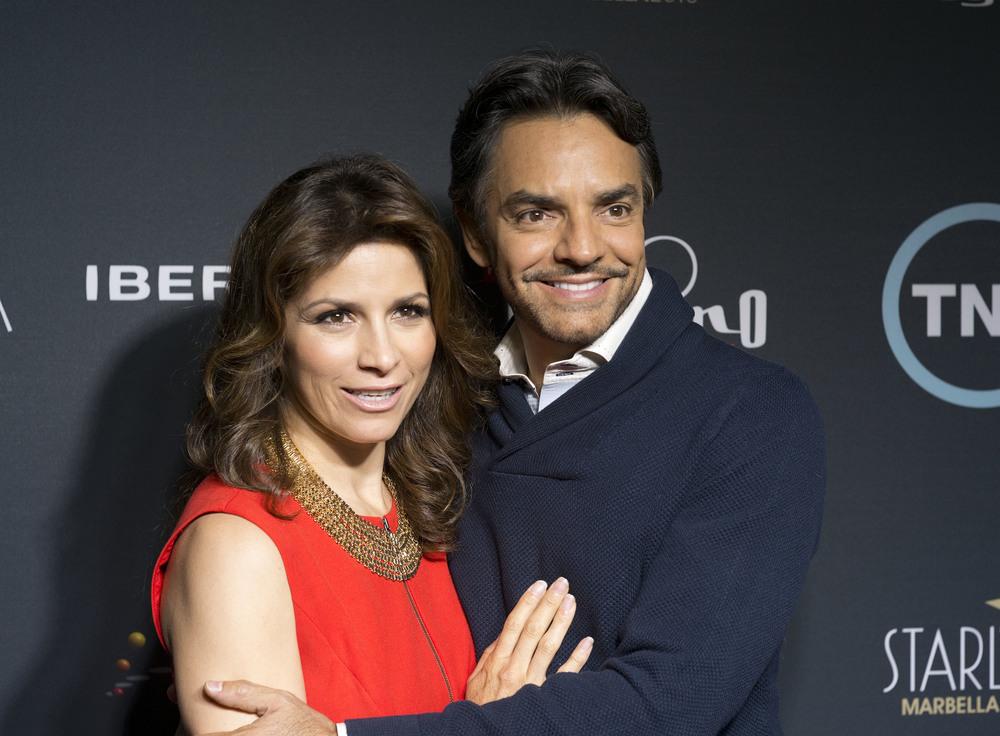 Alessandra Rosaldo and Eugenio Derbez Media Wall.jpg