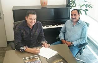 Saúl Plata, Director General y dueño de Banda Los Sebastianes / Antonio Silva, Director General de Fonovisa-Disa/México y USA