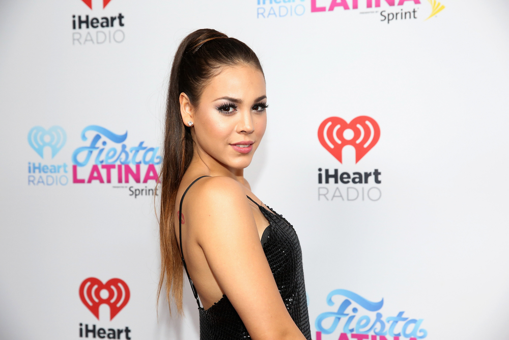 MIAMI, FL - NOVEMBER 07:  Actress Danna Paola attends iHeartRadio Fiesta Latina presented by Sprint at American Airlines Arena on November 7, 2015 in Miami, Florida.  (Photo by Aaron Davidson/Getty Images for iHeartMedia) *** Local Caption *** Danna Paola