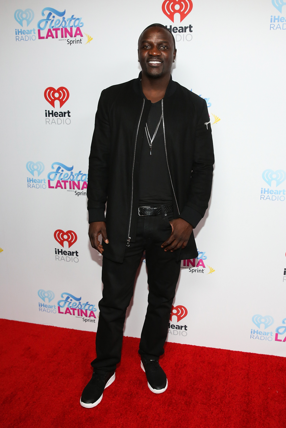 MIAMI, FL - NOVEMBER 07:  Singer Akon attends iHeartRadio Fiesta Latina presented by Sprint at American Airlines Arena on November 7, 2015 in Miami, Florida.  (Photo by Aaron Davidson/Getty Images for iHeartMedia) *** Local Caption *** Akon