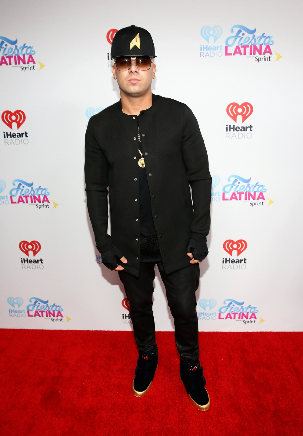 MIAMI, FL - NOVEMBER 07: Wisin attends iHeartRadio Fiesta Latina presented by Sprint at American Airlines Arena on November 7, 2015 in Miami, Florida.  (Photo by Aaron Davidson/Getty Images for iHeartMedia) *** Local Caption *** Wisin