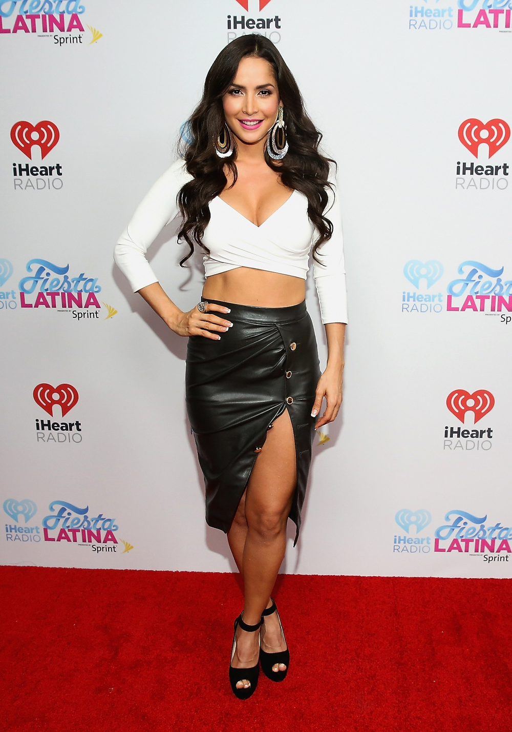 MIAMI, FL - NOVEMBER 07: Carmen Villalobos attends iHeartRadio Fiesta Latina presented by Sprint at American Airlines Arena on November 7, 2015 in Miami, Florida.  (Photo by Aaron Davidson/Getty Images for iHeartMedia) *** Local Caption *** Carmen Villalobos