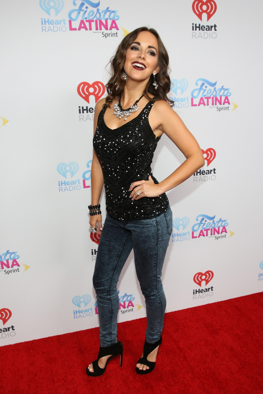 MIAMI, FL - NOVEMBER 07:  Maria Elisa Camargo attends iHeartRadio Fiesta Latina presented by Sprint at American Airlines Arena on November 7, 2015 in Miami, Florida.  (Photo by Aaron Davidson/Getty Images for iHeartMedia) *** Local Caption *** Maria Elisa Camargo