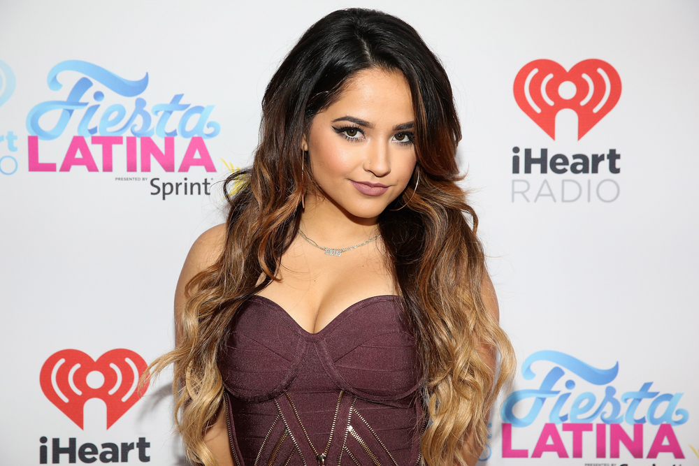 MIAMI, FL - NOVEMBER 07:  Becky G attends iHeartRadio Fiesta Latina presented by Sprint at American Airlines Arena on November 7, 2015 in Miami, Florida.  (Photo by Aaron Davidson/Getty Images for iHeartMedia) *** Local Caption *** Becky G