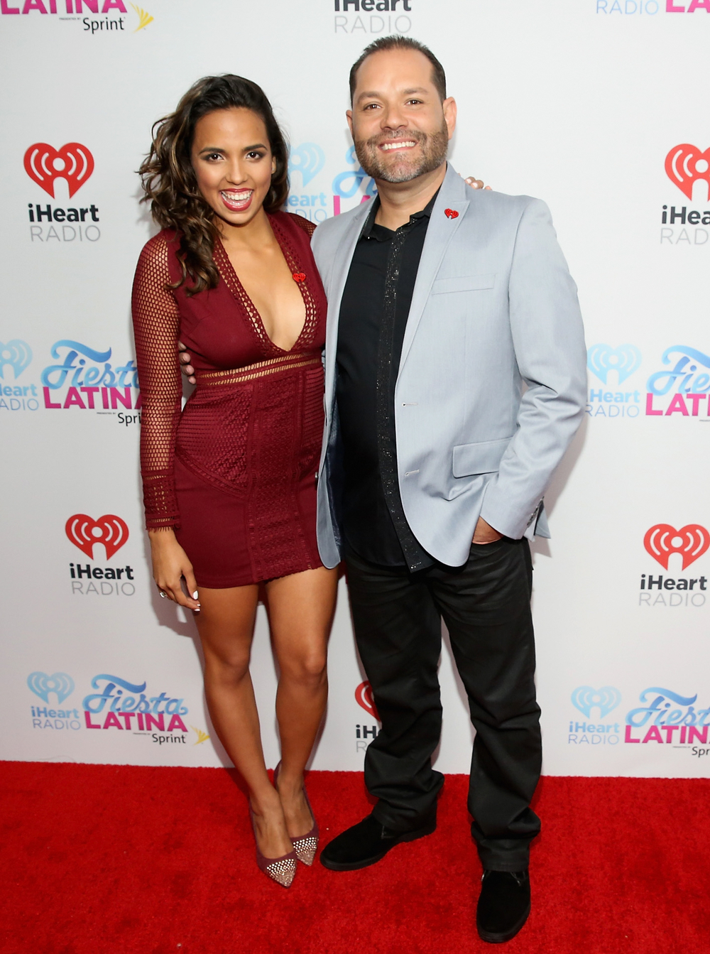 MIAMI, FL - NOVEMBER 07:  Radio personalities Melissa Rodriguez and Joe Ferrero attend iHeartRadio Fiesta Latina presented by Sprint at American Airlines Arena on November 7, 2015 in Miami, Florida.  (Photo by Aaron Davidson/Getty Images for iHeartMedia) *** Local Caption *** Melissa Rodriguez;Joe Ferrero