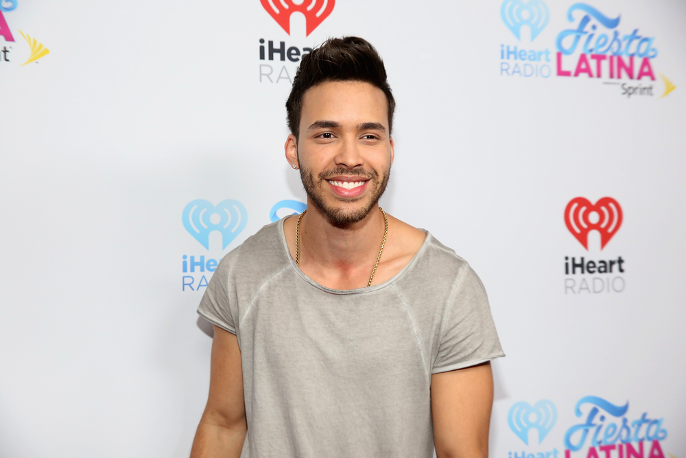 MIAMI, FL - NOVEMBER 07:  Prince Royce attends iHeartRadio Fiesta Latina presented by Sprint at American Airlines Arena on November 7, 2015 in Miami, Florida.  (Photo by Aaron Davidson/Getty Images for iHeartMedia) *** Local Caption *** Prince Royce