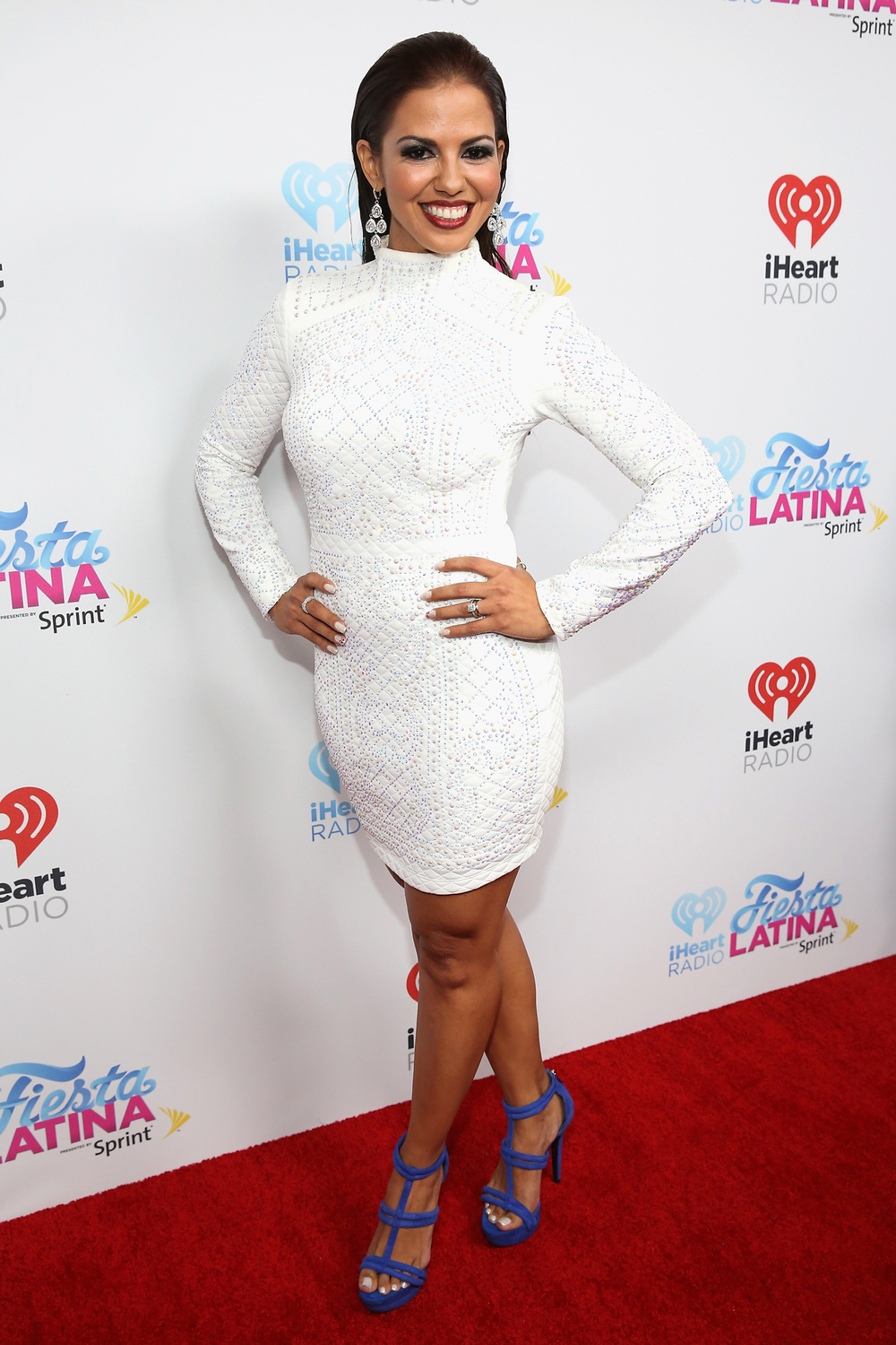 MIAMI, FL - NOVEMBER 07: Jenny Castillo attends iHeartRadio Fiesta Latina presented by Sprint at American Airlines Arena on November 7, 2015 in Miami, Florida.  (Photo by Aaron Davidson/Getty Images for iHeartMedia) *** Local Caption *** Jenny Castillo