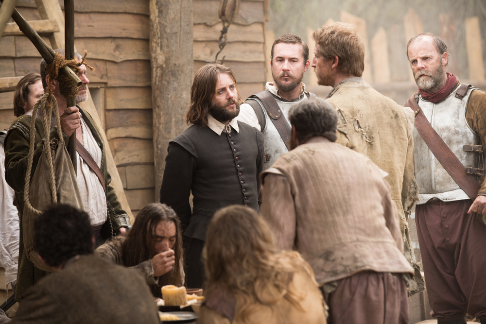 "Vincent Kartheiser as William Bradford in National Geographic Channel's two-night movie event ""Saints & Strangers,"" premiering Nov. 22-23, 9/8c.