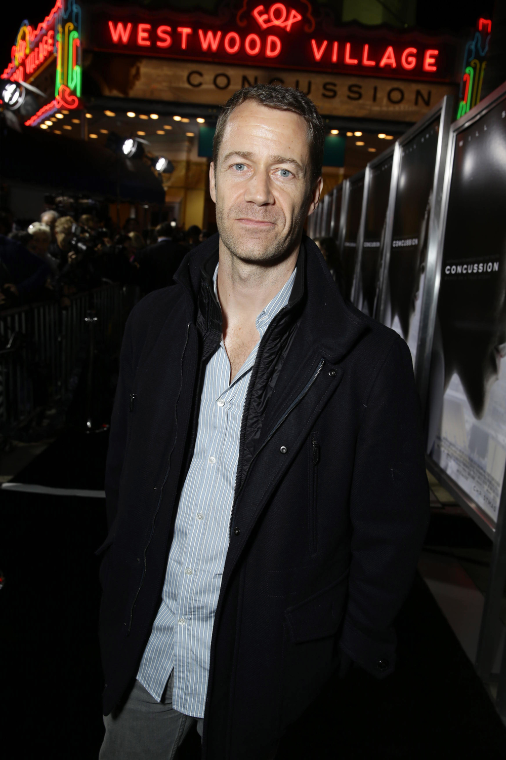 LOS ANGELES, CA- November 23, 2015. Colin Ferguson seen at Columbia Pictures' Special Screening of CONCUSSION at Regency Village Theatre.