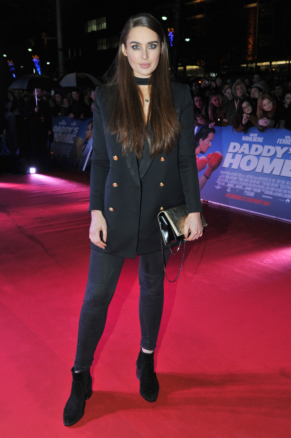 DUBLIN, IRELAND - DECEMBER 7: Irish model Rozanna Purcell attends the Dublin Premiere of 'Daddy's Home' at the Savoy Cinema on December 7, 2015 in Dublin, Ireland. (Photo by Clodagh Kilcoyne /Getty Images for Paramount Pictures)