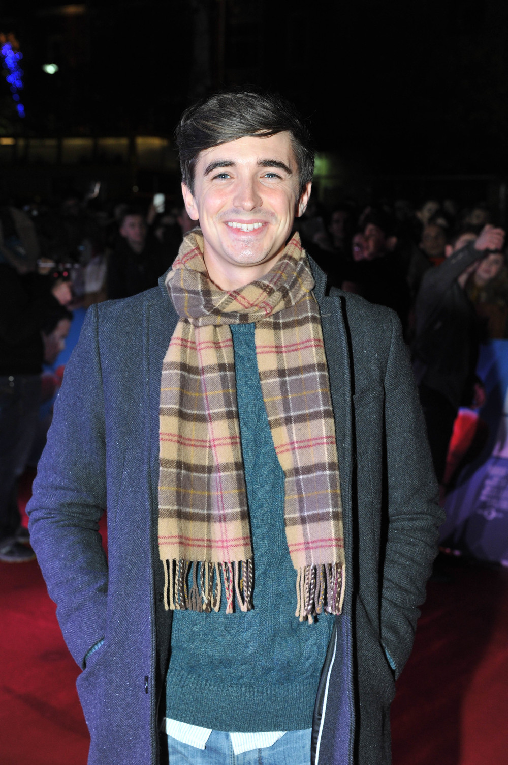 DUBLIN, IRELAND - DECEMBER 7: Chef Donal Skehan attends the Dublin Premiere of 'Daddy's Home' at the Savoy Cinema on December 7, 2015 in Dublin, Ireland. (Photo by Clodagh Kilcoyne /Getty Images for Paramount Pictures)