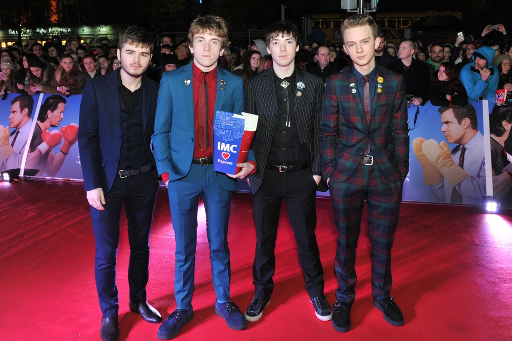 DUBLIN, IRELAND - DECEMBER 7: Irish band, The Strypes attend the Dublin Premiere of 'Daddy's Home' at the Savoy Cinema on December 7, 2015 in Dublin, Ireland. (Photo by Clodagh Kilcoyne /Getty Images for Paramount Pictures)