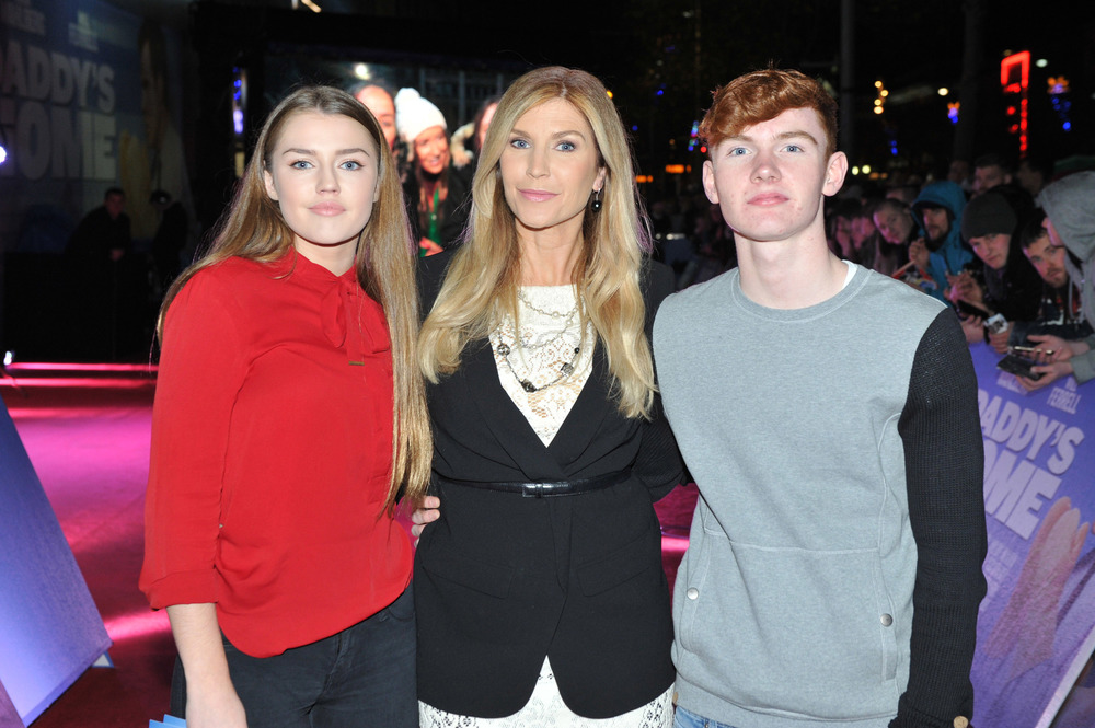 DUBLIN, IRELAND - DECEMBER 7: Missy Keating, Yvonne Connolly and Jack Keating attends the Dublin Premiere of 'Daddy's Home' at the Savoy Cinema on December 7, 2015 in Dublin, Ireland. (Photo by Clodagh Kilcoyne /Getty Images for Paramount Pictures)