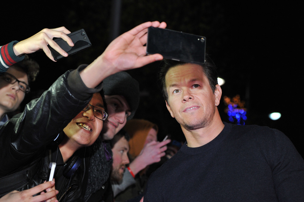 DUBLIN, IRELAND - DECEMBER 7: Mark Wahlberg attends the Dublin Premiere of 'Daddy's Home' at the Savoy Cinema on December 7, 2015 in Dublin, Ireland. (Photo by Clodagh Kilcoyne /Getty Images for Paramount Pictures)