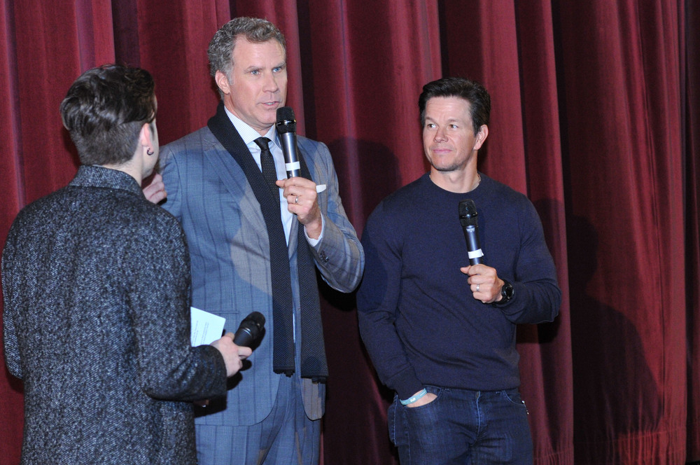 DUBLIN, IRELAND - DECEMBER 7: Will Ferrell and Mark Wahlberg attends the Dublin Premiere of 'Daddy's Home' at the Savoy Cinema on December 7, 2015 in Dublin, Ireland. (Photo by Clodagh Kilcoyne /Getty Images for Paramount Pictures)