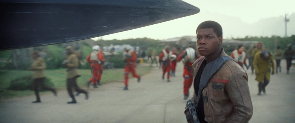 Star Wars: The Force Awakens..Finn (John Boyega)..Ph: Film Frame..© 2014 Lucasfilm Ltd. & TM. All Right Reserved..