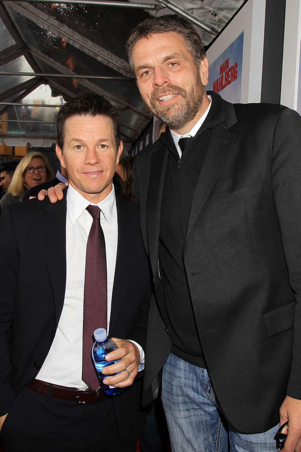 Mark Wahlberg and Marc Evans
