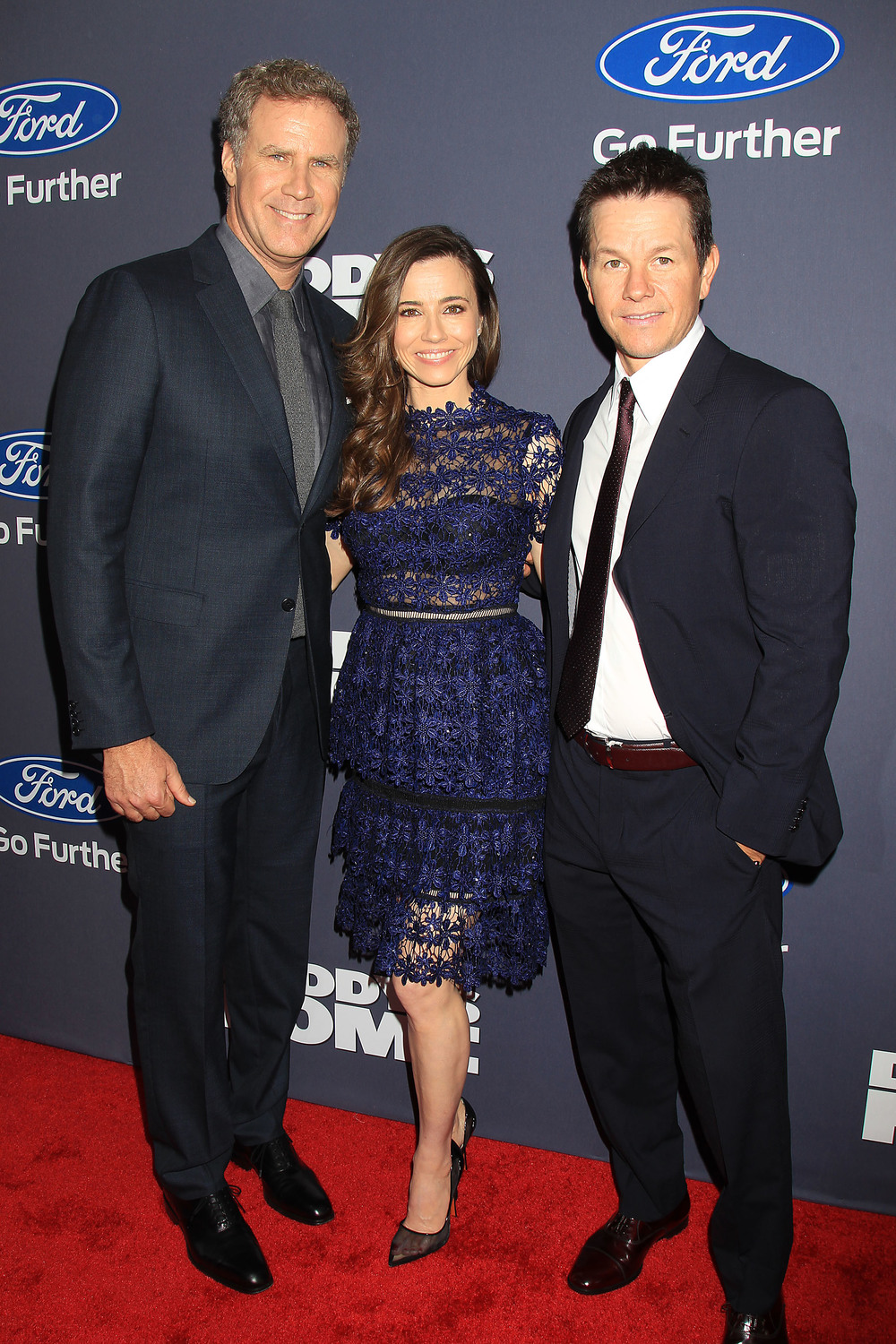 Will Ferrell, Linda Cardellini and Mark Wahlberg