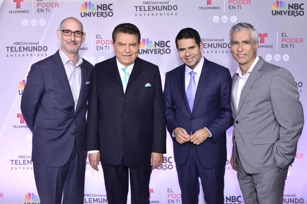 Luis Siberwasser_Don Franciso_ Cesar Conde_ Alfredo Richard, SVP of Corporate Communications.jpg