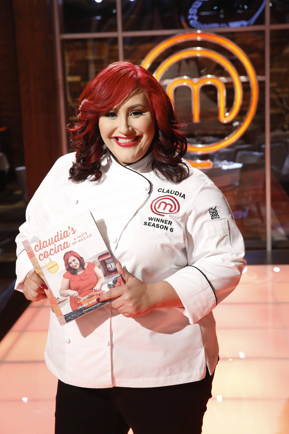 """MASTECHEF: Season 6 winner Claudia Sandoval in the all-new """"Top 17 Compete"""" episode of MASTERCHEF airing Wednesday, June 29 (8:00-9:00 PM ET/PT) on FOX. Cr: Greg Gayne / FOX. © 2016 FOX Broadcasting Co."""