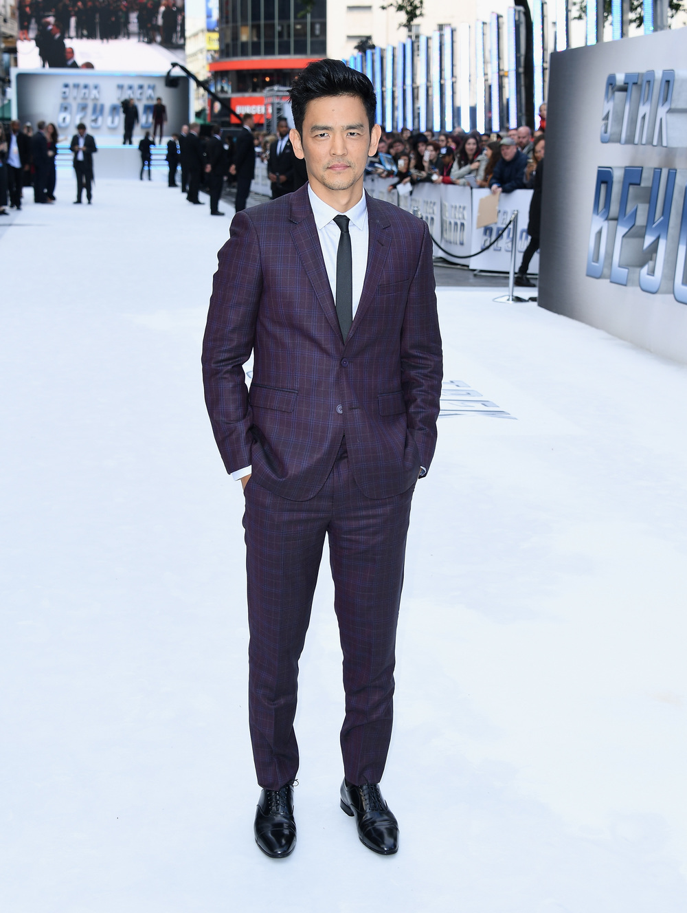 "LONDON, ENGLAND - JULY 12: John Cho attends the UK Premiere of Paramount Pictures ""Star Trek Beyond"" at the Empire Leicester Square on July 12, 2016 in London, England. (Photo by Gareth Cattermole/Getty Images for Paramount Pictures) *** Local Caption *** John Cho"