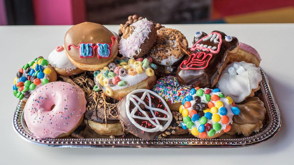 Doughnuts from Voodoo Doughnut at Universal CityWalk