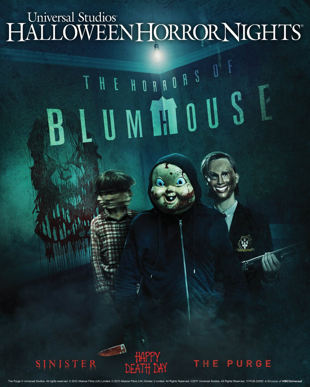 """The Horrors of Blumhouse"" at Universal Studios Hollywood's ""Halloween Horror Nights"""