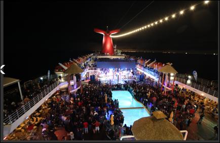 """HISTÓRICO CONCIERTO DE LA BANDA MS EN ALTAMAR     La agrupación actuó en un elegante crucero que zarpó del puerto de Long Beach, California con destino a Ensenada, Baja California en el evento denominado: """"Día nacional de la banda Ocean Fest 2018""""    La noche del pasado viernes la  BANDA MS DE SERGIO LIZÁRRAGA  actuó por primera ocasión a bordo de un crucero que zarpó del puerto de Long Beach, California con destino a Ensenada, Baja California. Organizado por  SBS (Spanish Broadcasting System, Inc.) empresa líder en comunicación y en colaboración con  Carnival Cruises , la  BANDA MS  se presentó ante mas de 2 mil quinientas personas en un evento que se denominó """" Día nacional de la banda Ocean Fest 2018""""."""