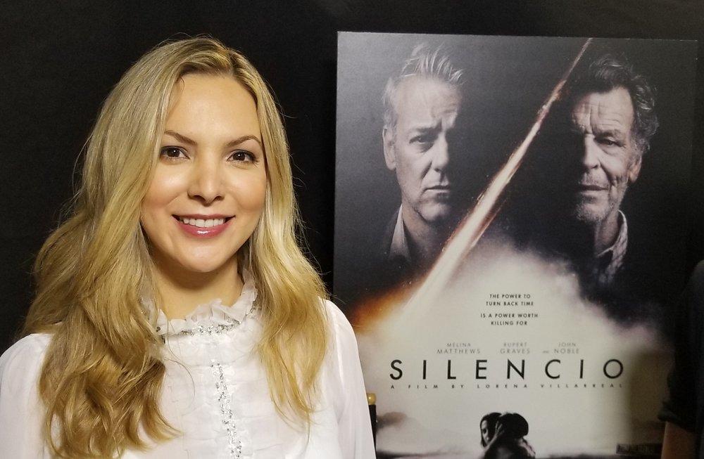 La cineasta mexicana Lorena Villarreal. Foto: Kioskonews
