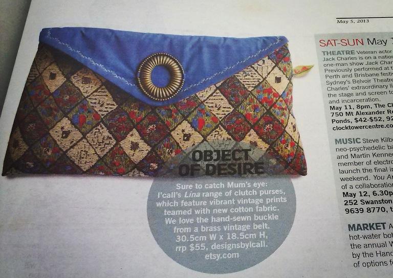 PRINT COVERAGE: The Age 'M' Sunday Magazine, 5 May 2013