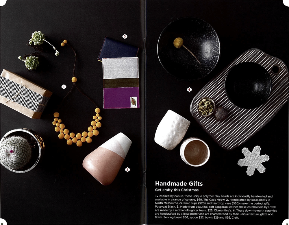 PRINT COVERAGE: The City of Melbourne's Official Christmas Gift Guide 2014