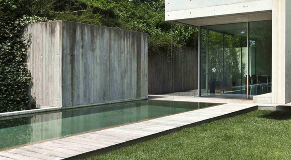 Pool design landscape design project management for Residential landscape design brisbane