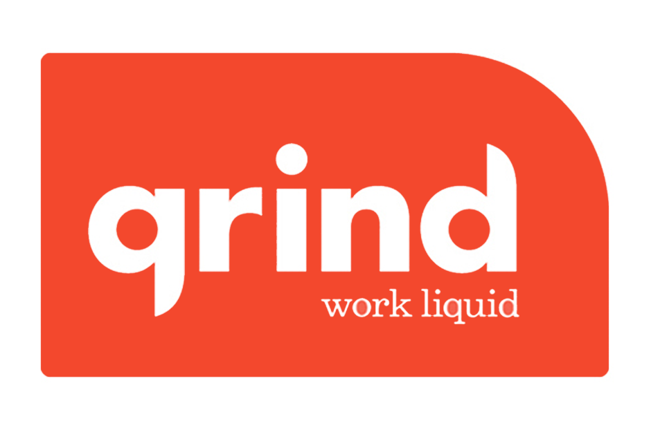 Grind: Work Liquid  Website and Space concept & design.