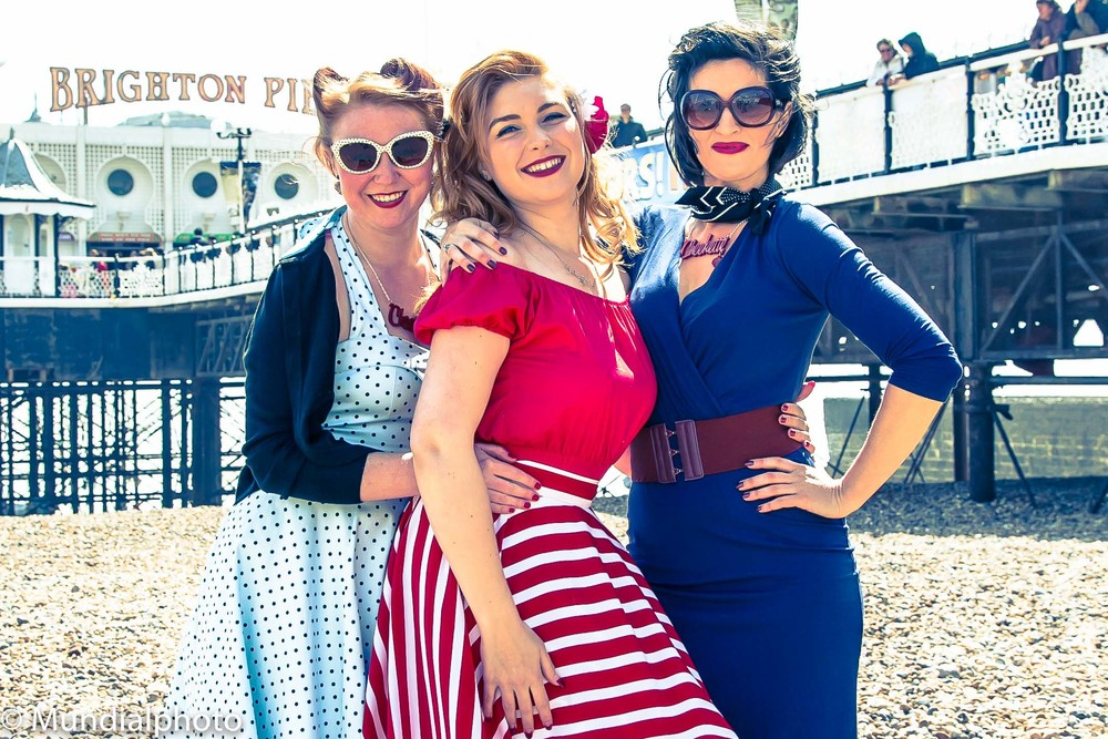 The Cheekettes arrive in Brighton to promote Memoirs of a Slutsky