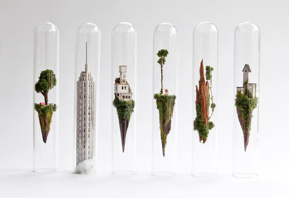 These Glass-Encased Tiny Houses by Rosa de Jong Are No Small Matter