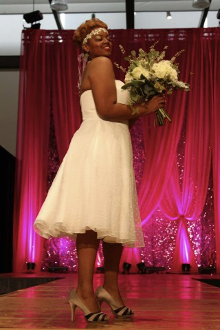 They carried some of my bouquets in the first fashion show.