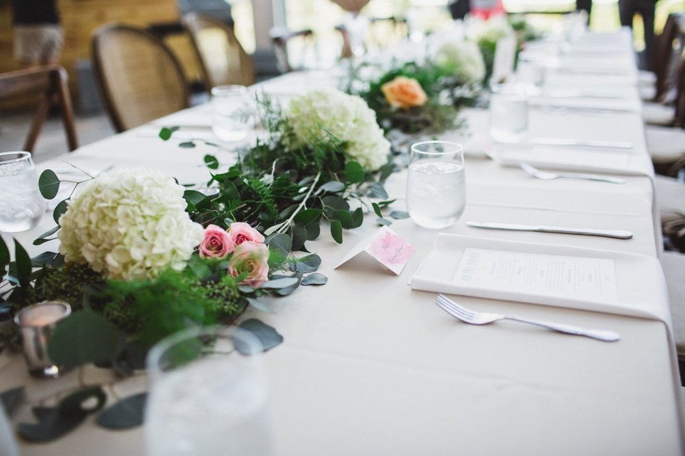 Head Table Garland Effect