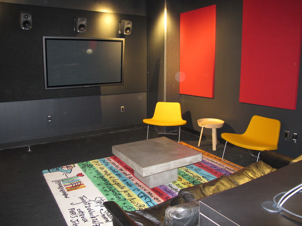 Client ready sound engineering suites.