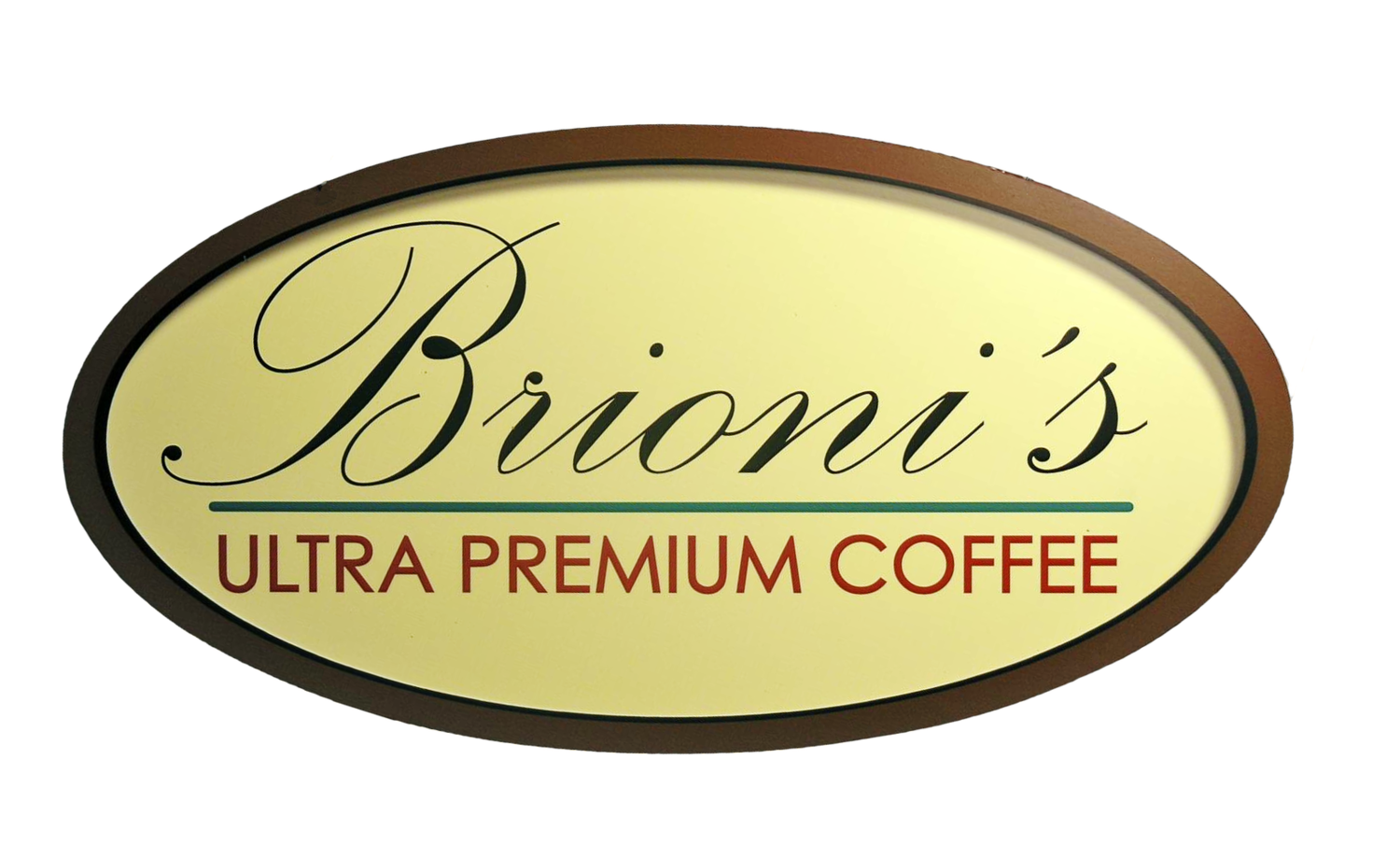 Brioni's Ultra Premium Coffee