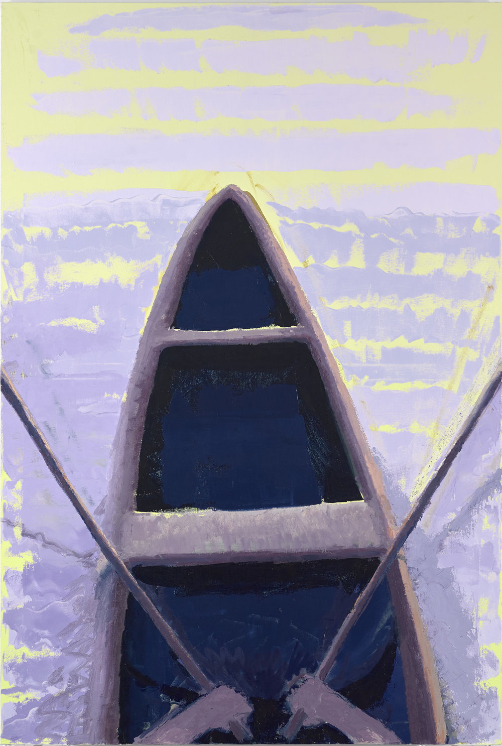 Boat, 6'x4', oil on canvas, 2019