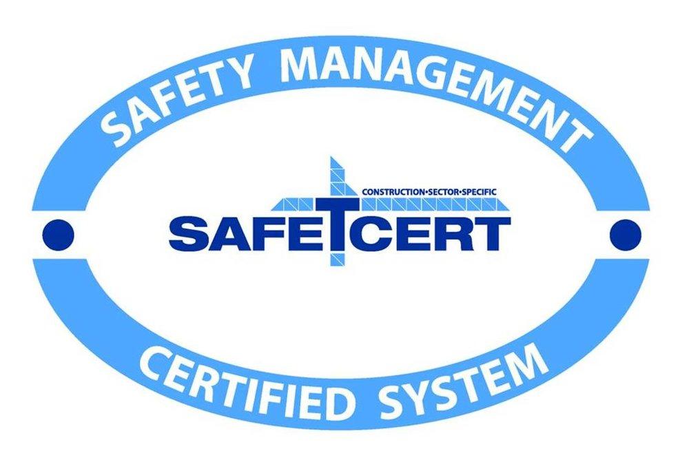 Safe T Cert logo