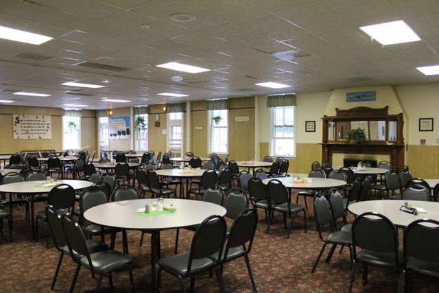 Main Lodge - Dining Hall