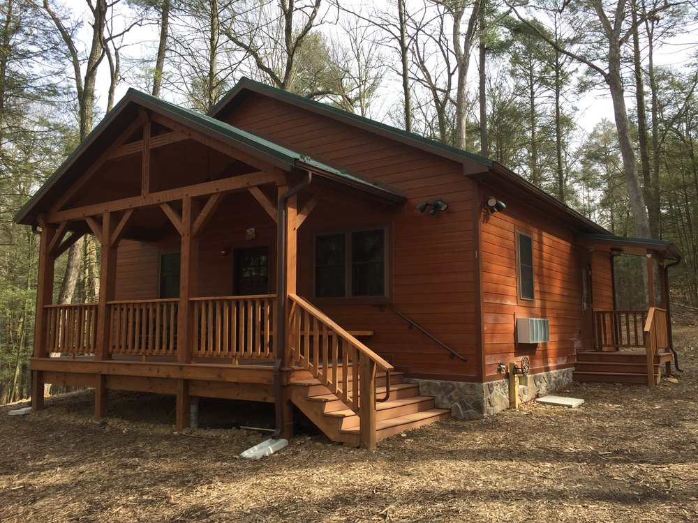 All Supplies Needed For Building Fires Are Included And Located Near The  Cabins.
