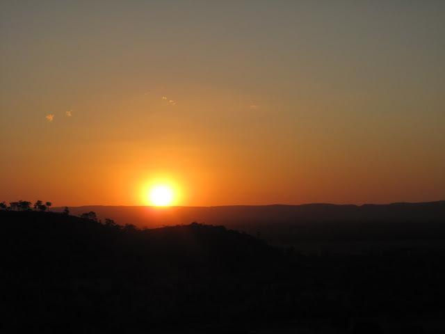 sunset overKununnurra, Australia