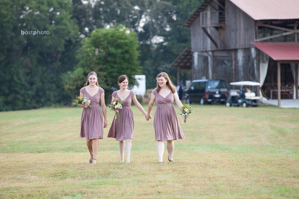 My ladies. Callan, my beautiful sister, was my maid of honor. Sarah and Caroline were the lovely bridesmaids.